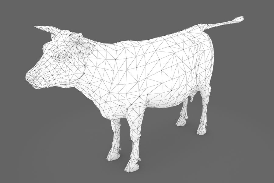 Typ krowy 01 A royalty-free 3d model - Preview no. 13