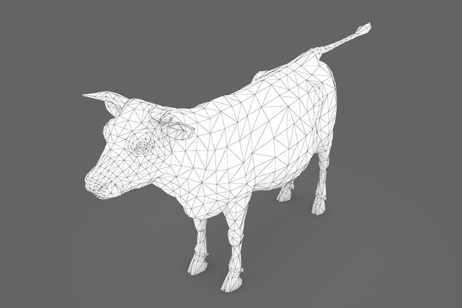 Typ krowy 01 A royalty-free 3d model - Preview no. 16