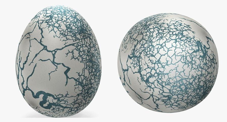 Kolekcja jaj dinozaurów royalty-free 3d model - Preview no. 11