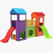 Kids Slide 3d model