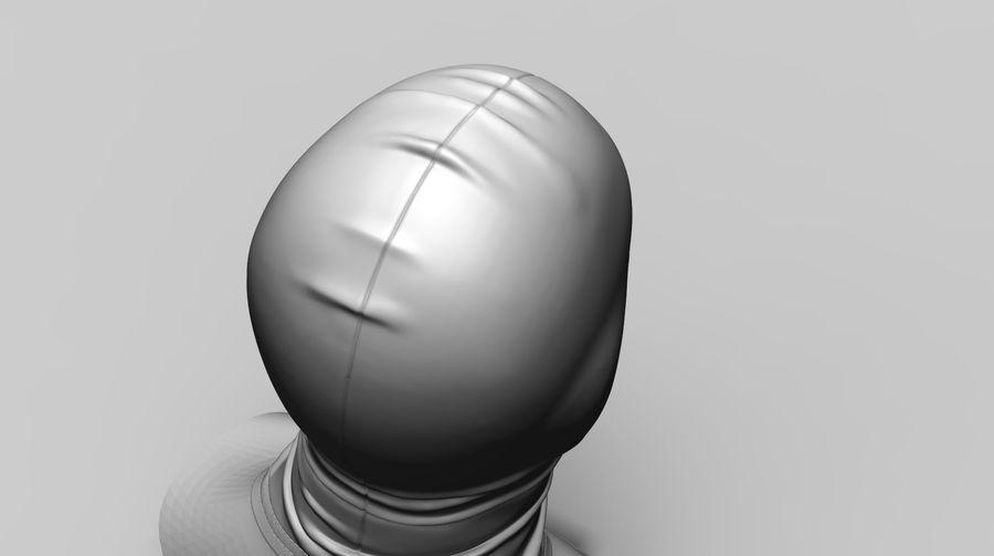 Kominiarka (1) royalty-free 3d model - Preview no. 5