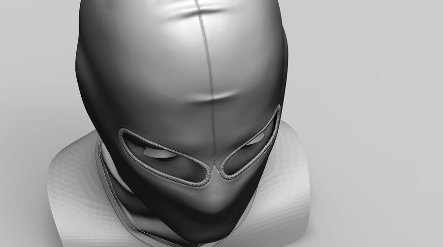 Kominiarka (1) royalty-free 3d model - Preview no. 7