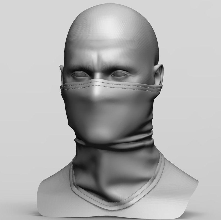 巴拉克拉法帽 royalty-free 3d model - Preview no. 1