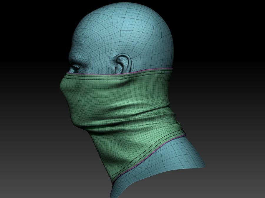 巴拉克拉法帽 royalty-free 3d model - Preview no. 12