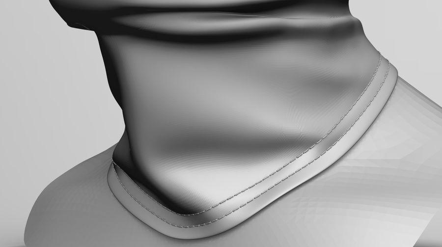 巴拉克拉法帽 royalty-free 3d model - Preview no. 3