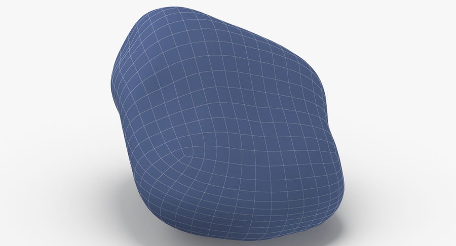 Smooth River Rock 02 royalty-free 3d model - Preview no. 13
