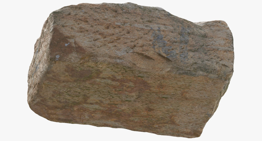 Stone Block 02 royalty-free 3d model - Preview no. 9