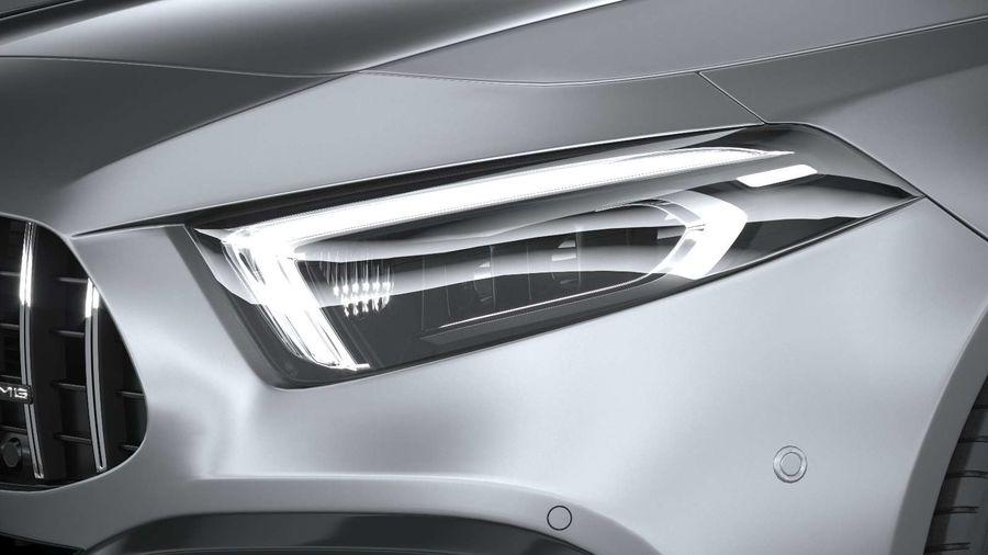 Mercedes-Benz A45 S AMG 2020 CoronaRender royalty-free 3d model - Preview no. 15
