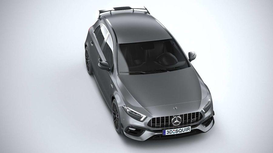 Mercedes-Benz A45 S AMG 2020 CoronaRender royalty-free 3d model - Preview no. 13