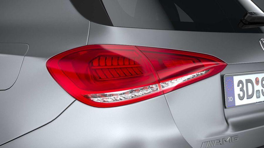 Mercedes-Benz A45 S AMG 2020 CoronaRender royalty-free 3d model - Preview no. 16