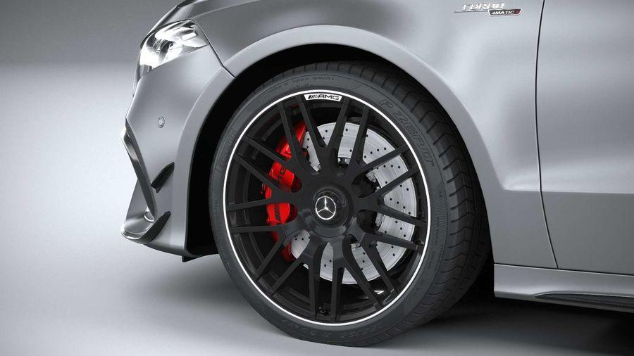 Mercedes-Benz A45 S AMG 2020 CoronaRender royalty-free 3d model - Preview no. 17