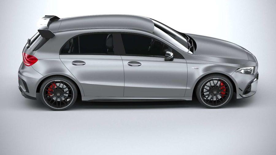 Mercedes-Benz A45 S AMG 2020 CoronaRender royalty-free 3d model - Preview no. 12