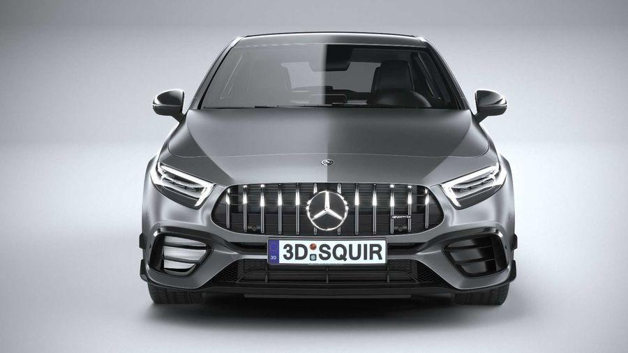 Mercedes-Benz A45 S AMG 2020 CoronaRender royalty-free 3d model - Preview no. 14