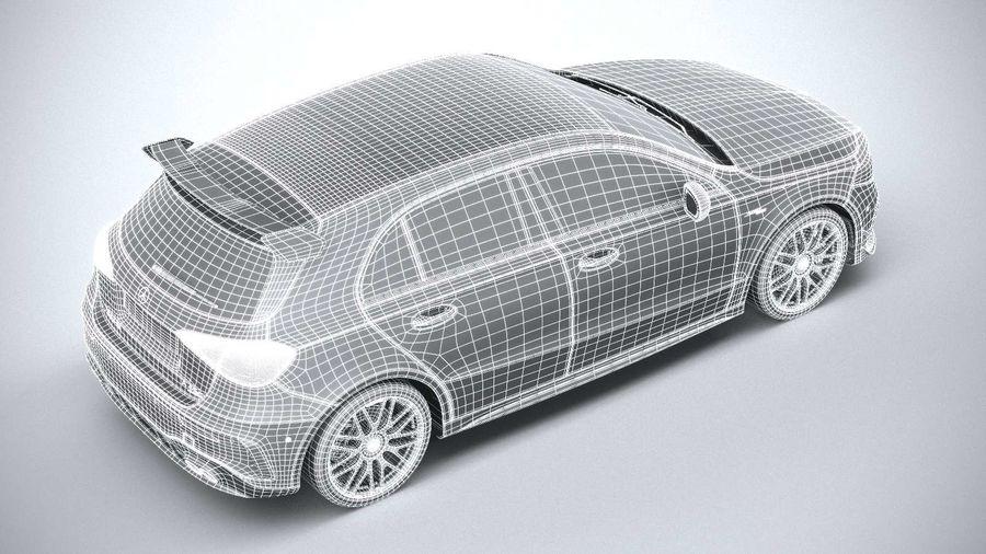 Mercedes-Benz A45 S AMG 2020 CoronaRender royalty-free 3d model - Preview no. 23
