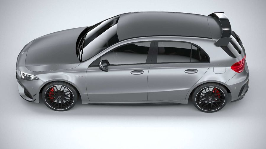Mercedes-Benz A45 S AMG 2020 CoronaRender royalty-free 3d model - Preview no. 18