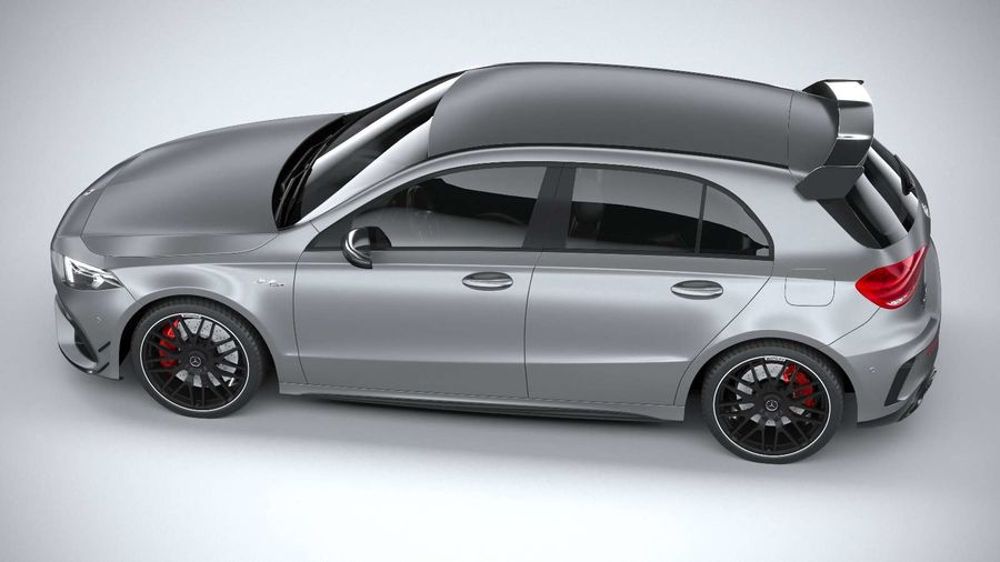 Mercedes-Benz A45 S AMG 2020 CoronaRender royalty-free 3d model - Preview no. 10