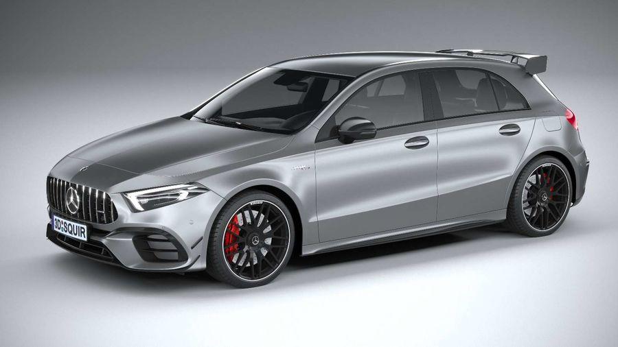 Mercedes-Benz A45 S AMG 2020 CoronaRender royalty-free 3d model - Preview no. 1