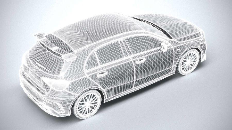 Mercedes-Benz A45 S AMG 2020 CoronaRender royalty-free 3d model - Preview no. 21