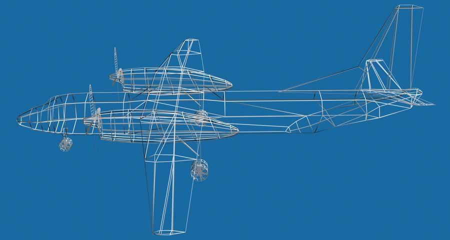 Antonov An-26 - 1 Livery royalty-free 3d model - Preview no. 7