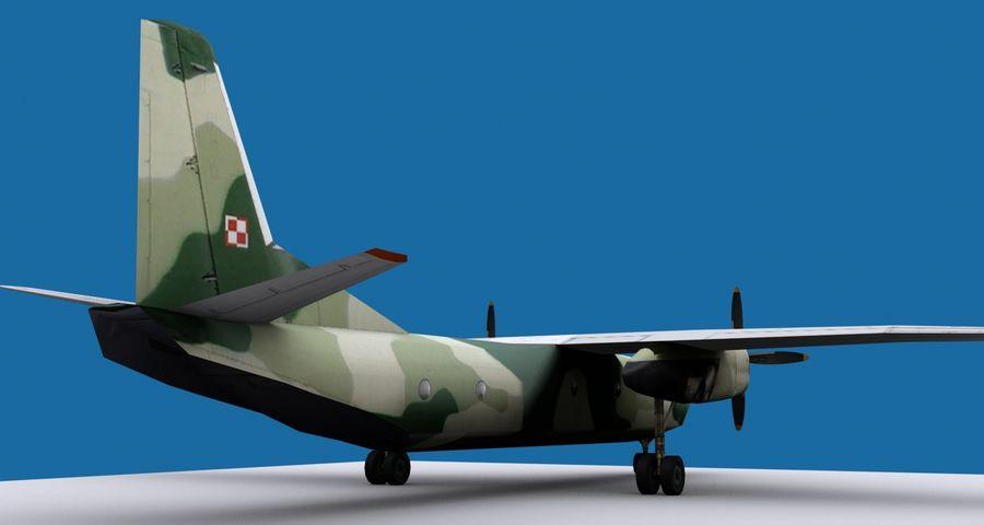 Antonov An-26 - 1 Livery royalty-free 3d model - Preview no. 4