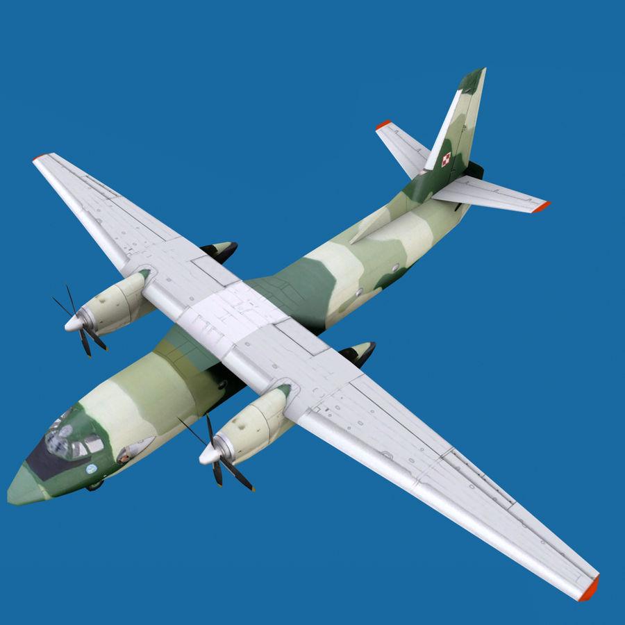 Antonov An-26 - 1 Livery royalty-free 3d model - Preview no. 1