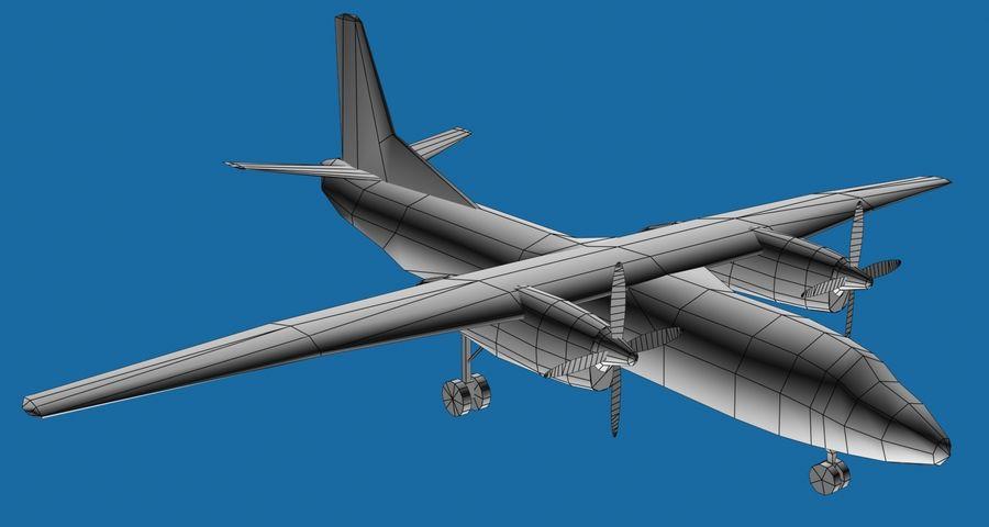 Antonov An-26 - 1 Livery royalty-free 3d model - Preview no. 5