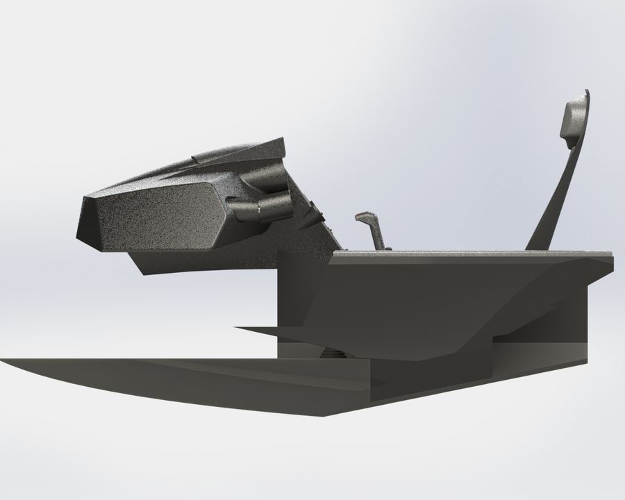Icon A5 Koltukları royalty-free 3d model - Preview no. 5