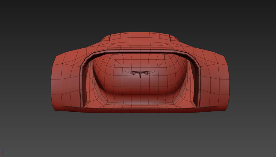 \\ T // Hover Car 37 royalty-free 3d model - Preview no. 23