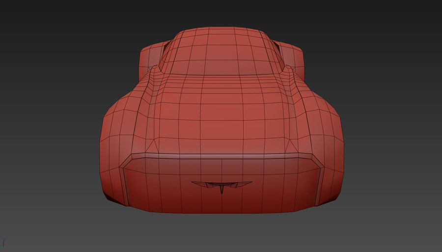 \\ T // Hover Car 37 royalty-free 3d model - Preview no. 17