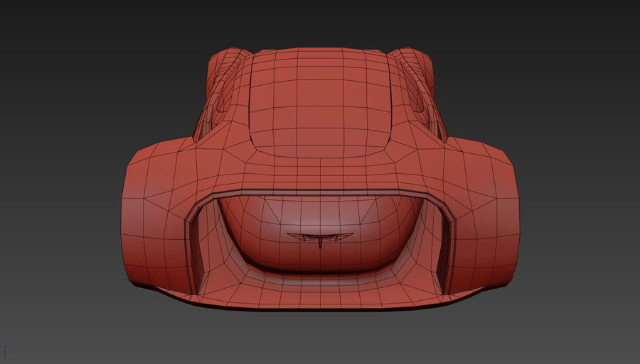 \\ T // Hover Car 37 royalty-free 3d model - Preview no. 24