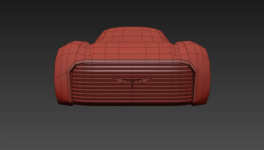 \\ T // Hover Car 37 royalty-free 3d model - Preview no. 16