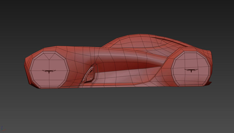 \\ T // Hover Car 37 royalty-free 3d model - Preview no. 19