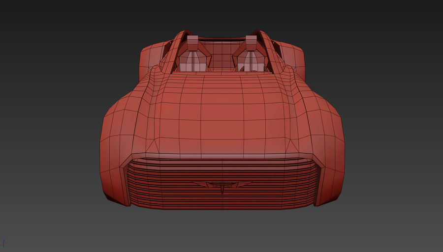 \\ T // Hover Car 37 royalty-free 3d model - Preview no. 18