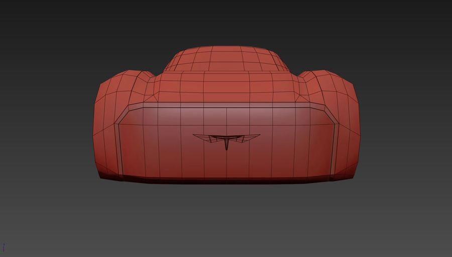 \\ T // Hover Car 37 royalty-free 3d model - Preview no. 15