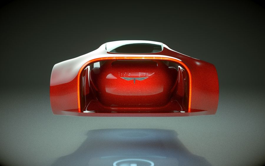 \\ T // Hover Car 37 royalty-free 3d model - Preview no. 8