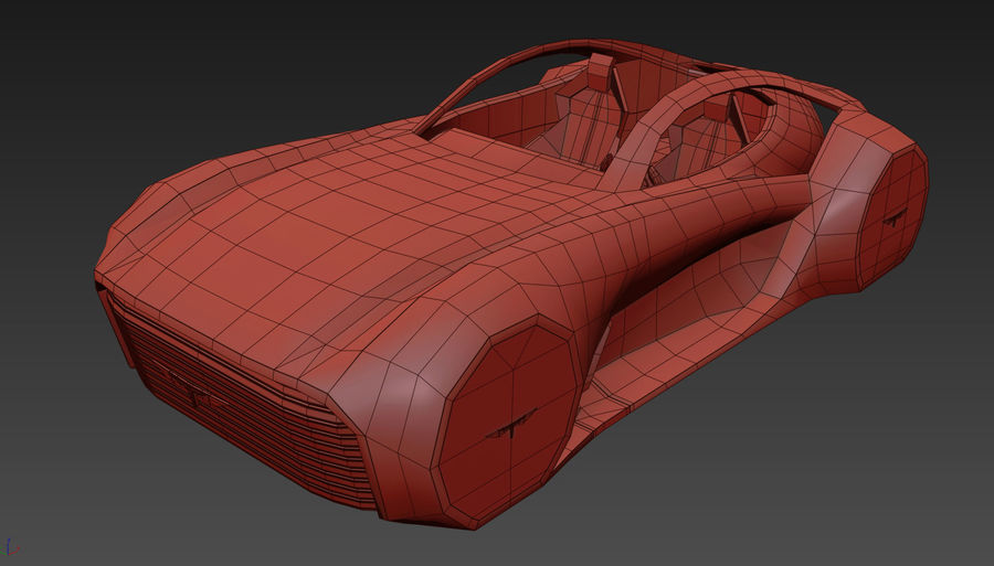 \\ T // Hover Car 37 royalty-free 3d model - Preview no. 14