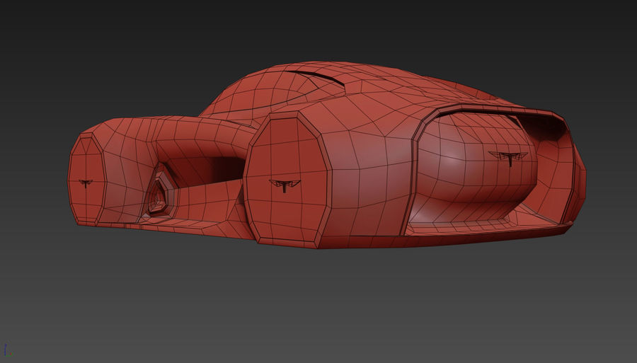 \\ T // Hover Car 37 royalty-free 3d model - Preview no. 21