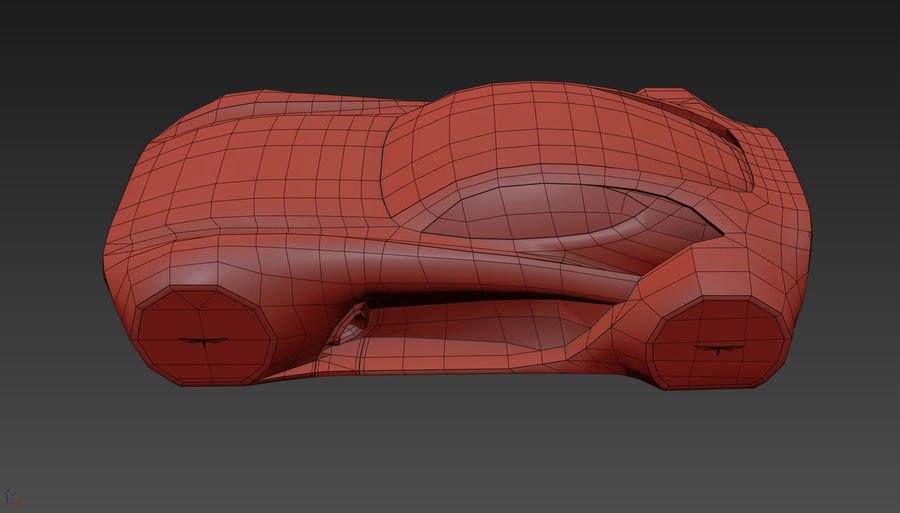 \\ T // Hover Car 37 royalty-free 3d model - Preview no. 20