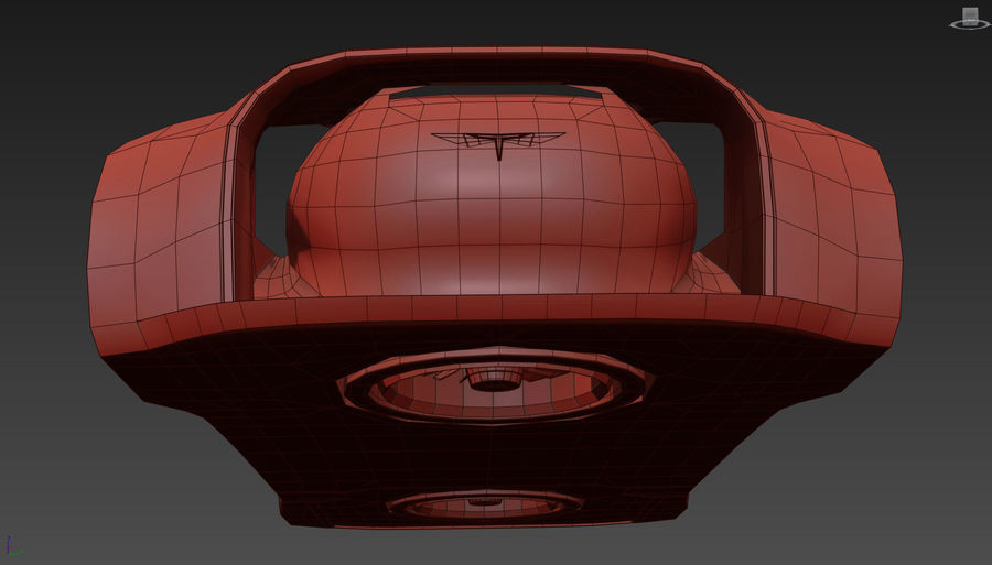 \\ T // Hover Car 37 royalty-free 3d model - Preview no. 27