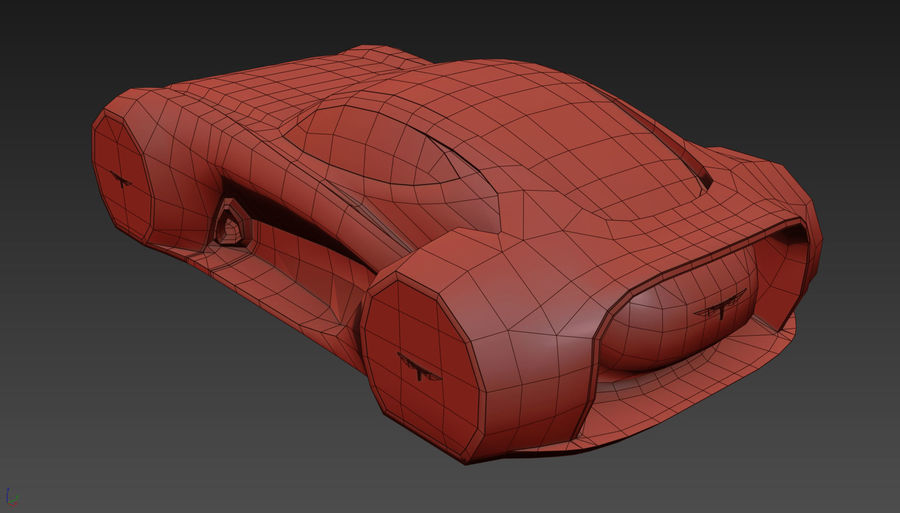 \\ T // Hover Car 37 royalty-free 3d model - Preview no. 22