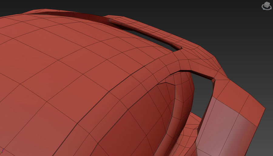 \\ T // Hover Car 37 royalty-free 3d model - Preview no. 26