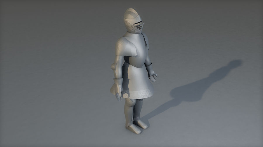 Medieval Knight Armor royalty-free 3d model - Preview no. 17