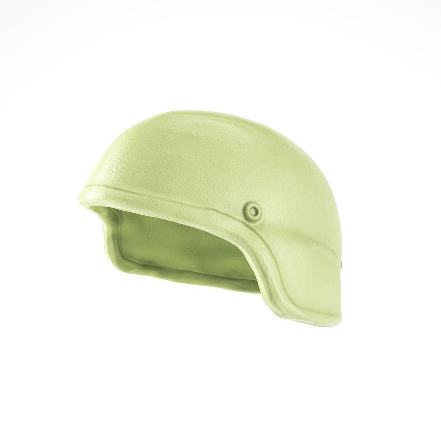 Military Khaki helmet 05 royalty-free 3d model - Preview no. 1
