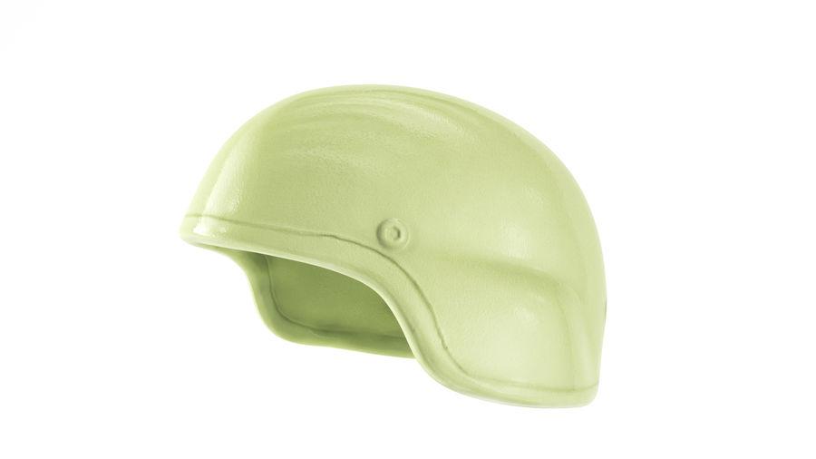 Military Khaki helmet 05 royalty-free 3d model - Preview no. 2