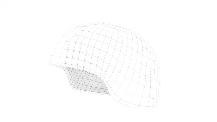 Military Khaki helmet 05 royalty-free 3d model - Preview no. 6