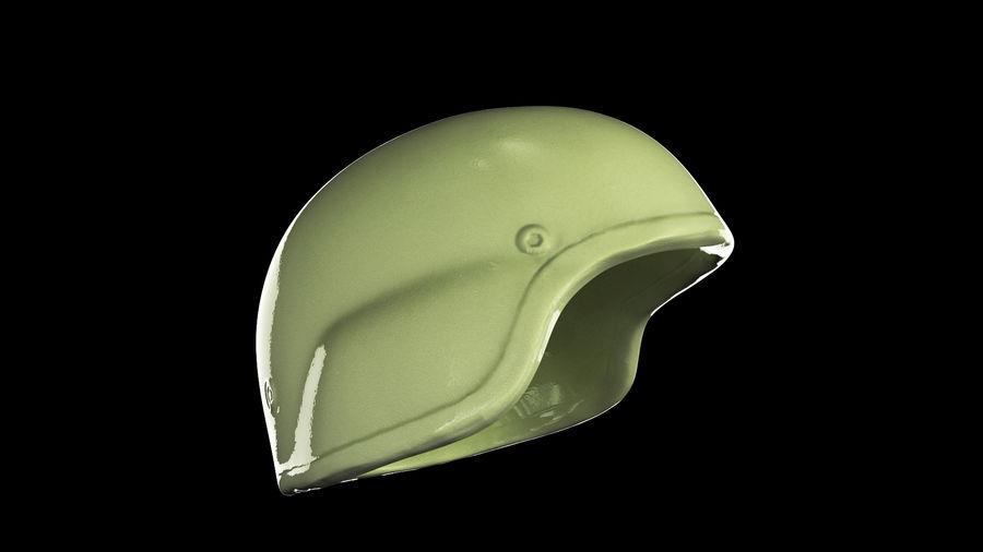 Military Khaki helmet 05 royalty-free 3d model - Preview no. 4