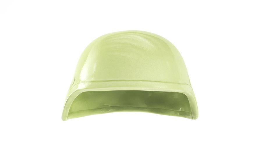 Military Khaki helmet 05 royalty-free 3d model - Preview no. 3