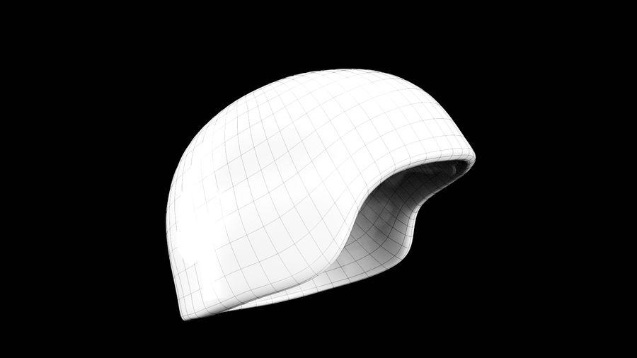 Military Khaki helmet 05 royalty-free 3d model - Preview no. 8