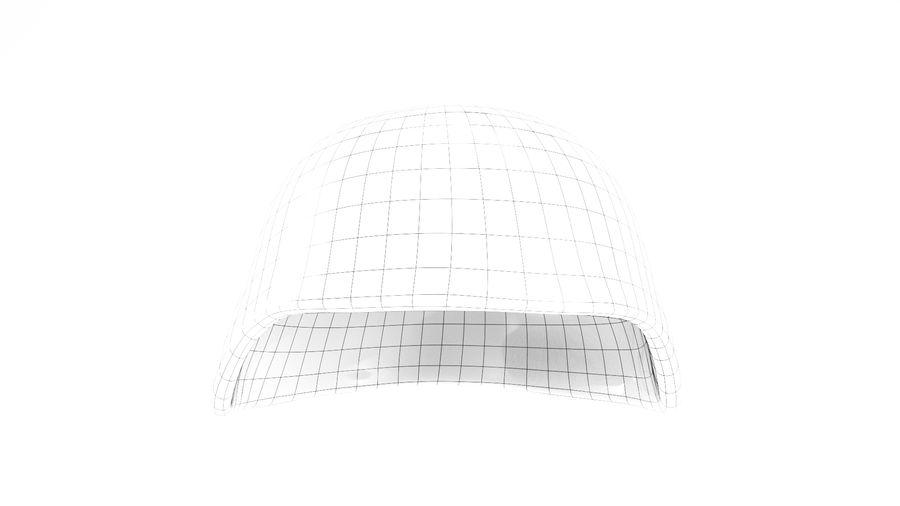 Military Khaki helmet 05 royalty-free 3d model - Preview no. 7