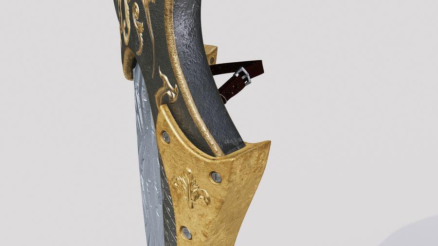 Fantasy Shield royalty-free 3d model - Preview no. 5